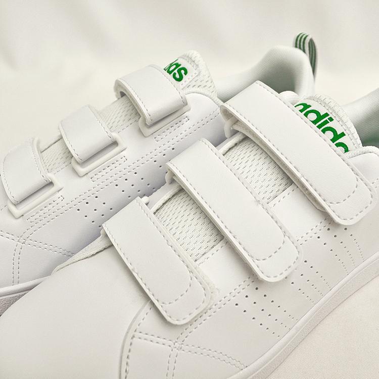 アディダス バルクリーン2 CMF ベルクロ スニーカー メンズ ホワイト/グリーン 白 adidas VS ADVANTAGE CLEAN CMF AW5210 denpcy 13