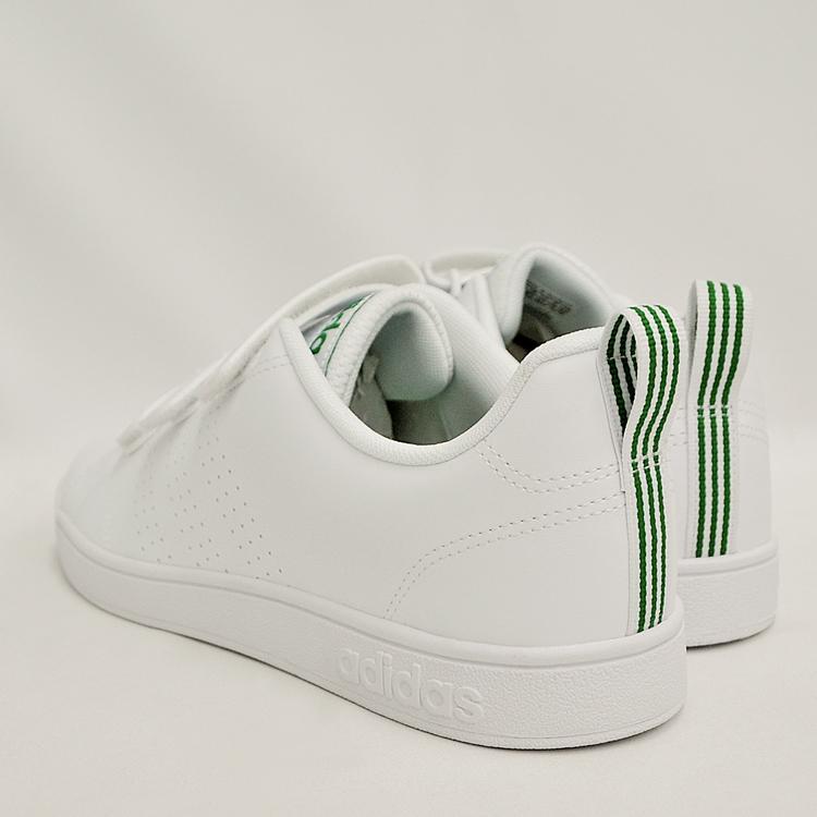 アディダス バルクリーン2 CMF ベルクロ スニーカー メンズ ホワイト/グリーン 白 adidas VS ADVANTAGE CLEAN CMF AW5210 denpcy 15
