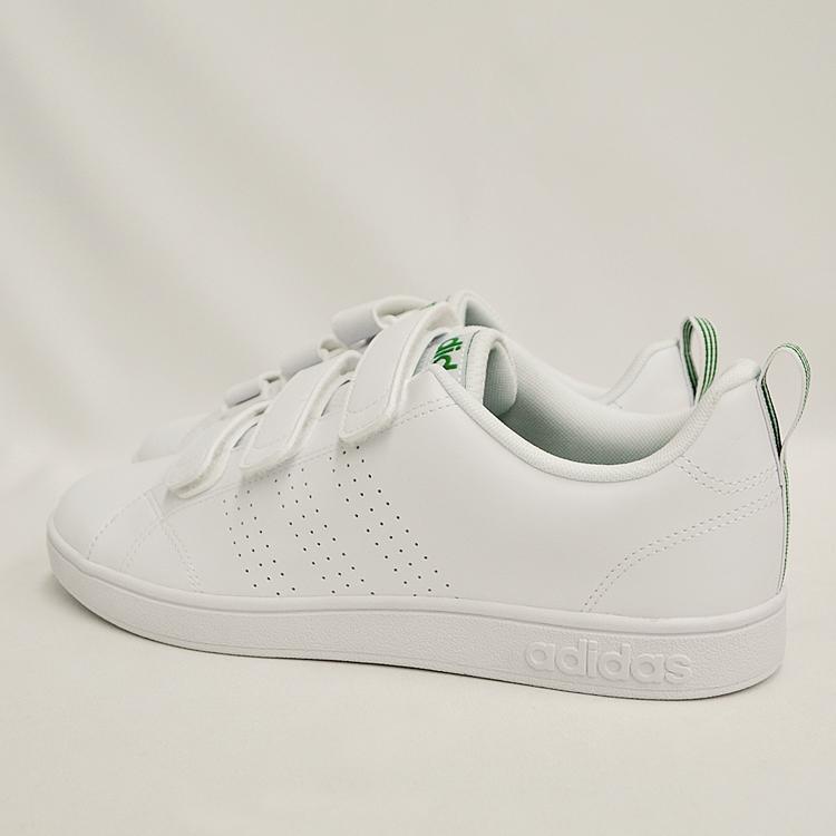 アディダス バルクリーン2 CMF ベルクロ スニーカー メンズ ホワイト/グリーン 白 adidas VS ADVANTAGE CLEAN CMF AW5210 denpcy 16