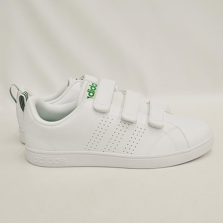 アディダス バルクリーン2 CMF ベルクロ スニーカー メンズ ホワイト/グリーン 白 adidas VS ADVANTAGE CLEAN CMF AW5210 denpcy 17