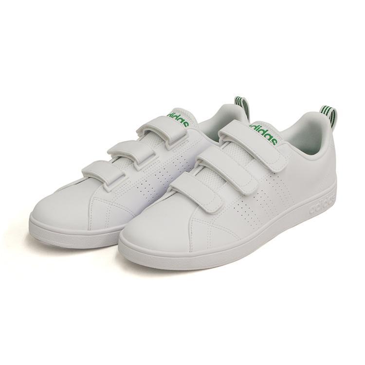 アディダス バルクリーン2 CMF ベルクロ スニーカー メンズ ホワイト/グリーン 白 adidas VS ADVANTAGE CLEAN CMF AW5210 denpcy 04