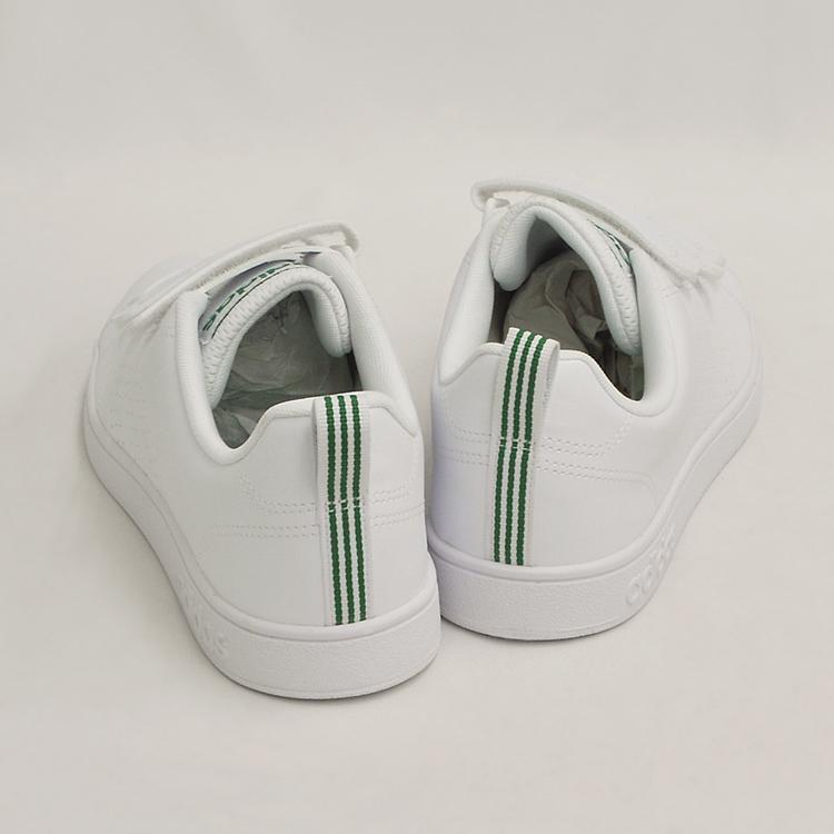 アディダス バルクリーン2 CMF ベルクロ スニーカー メンズ ホワイト/グリーン 白 adidas VS ADVANTAGE CLEAN CMF AW5210 denpcy 07