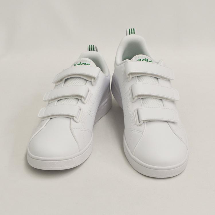 アディダス バルクリーン2 CMF ベルクロ スニーカー メンズ ホワイト/グリーン 白 adidas VS ADVANTAGE CLEAN CMF AW5210 denpcy 08