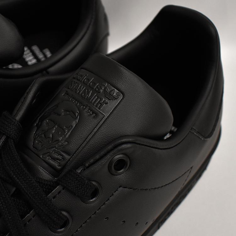 スタンスミス 黒 アディダス メンズ レディース スニーカー ブラック/ブラック adidas STANSMITH BLACK/BLACK FX5499|denpcy|17