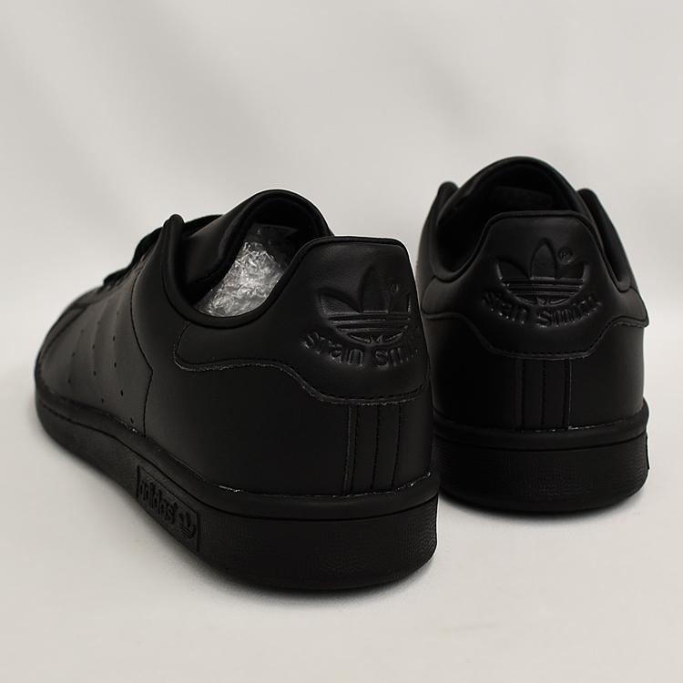 スタンスミス 黒 アディダス メンズ レディース スニーカー ブラック/ブラック adidas STANSMITH BLACK/BLACK FX5499|denpcy|18