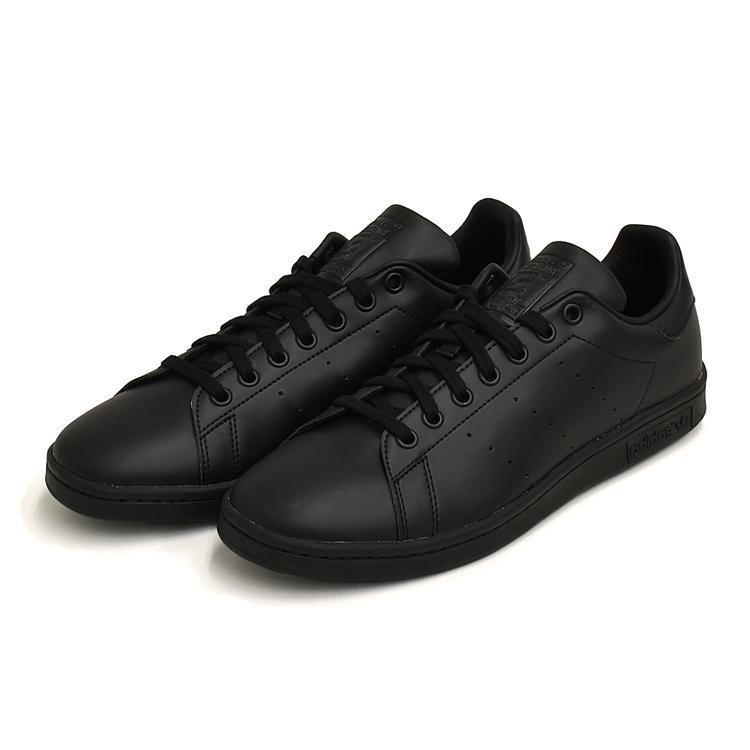 スタンスミス 黒 アディダス メンズ レディース スニーカー ブラック/ブラック adidas STANSMITH BLACK/BLACK FX5499|denpcy|05