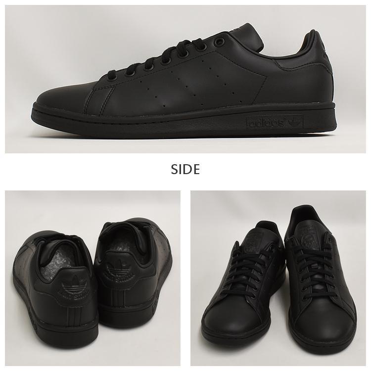 スタンスミス 黒 アディダス メンズ レディース スニーカー ブラック/ブラック adidas STANSMITH BLACK/BLACK FX5499|denpcy|07