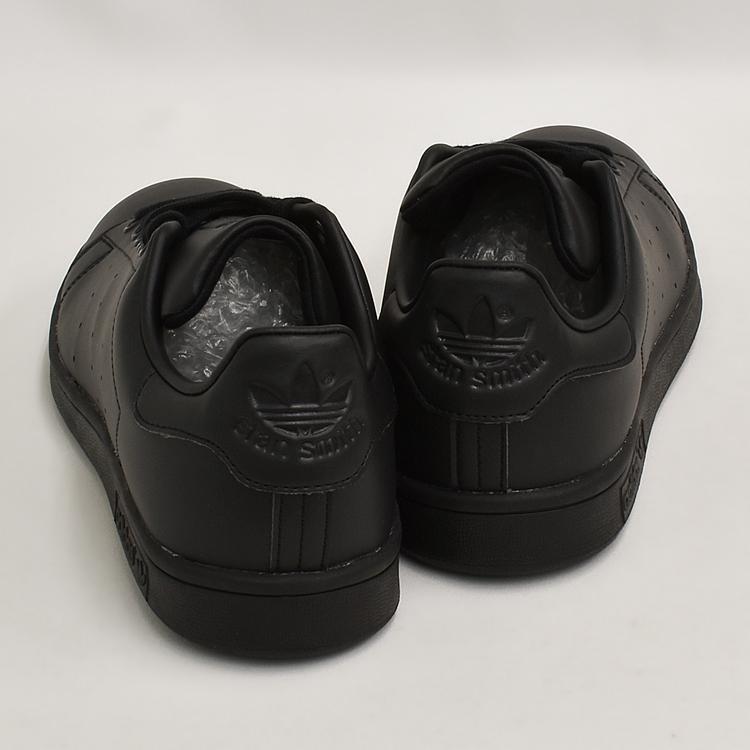スタンスミス 黒 アディダス メンズ レディース スニーカー ブラック/ブラック adidas STANSMITH BLACK/BLACK FX5499|denpcy|09