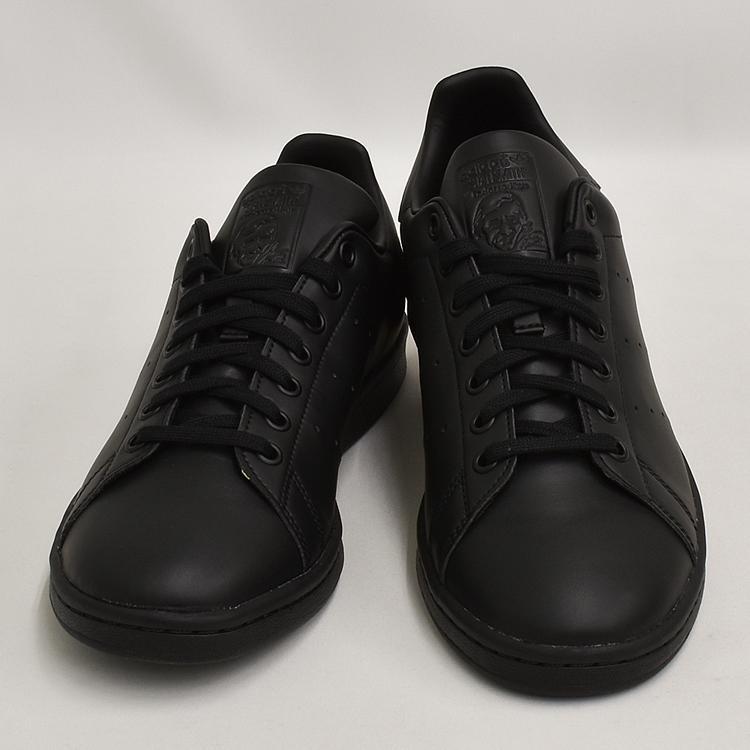 スタンスミス 黒 アディダス メンズ レディース スニーカー ブラック/ブラック adidas STANSMITH BLACK/BLACK FX5499|denpcy|10