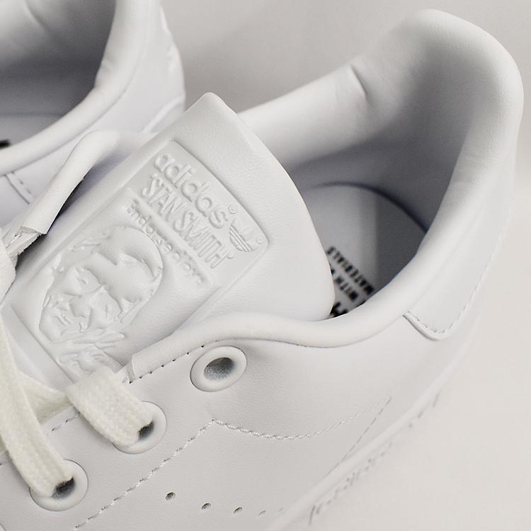 スタンスミス 白 アディダス メンズ レディース スニーカー ホワイト/ホワイト adidas STANSMITH WHITE/WHITE FX5500|denpcy|17
