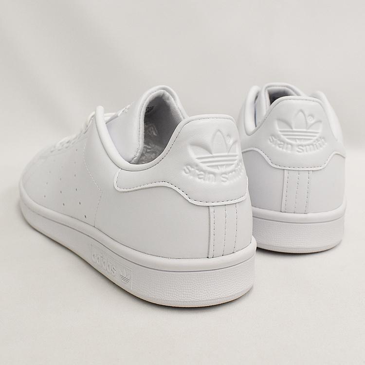 スタンスミス 白 アディダス メンズ レディース スニーカー ホワイト/ホワイト adidas STANSMITH WHITE/WHITE FX5500|denpcy|18