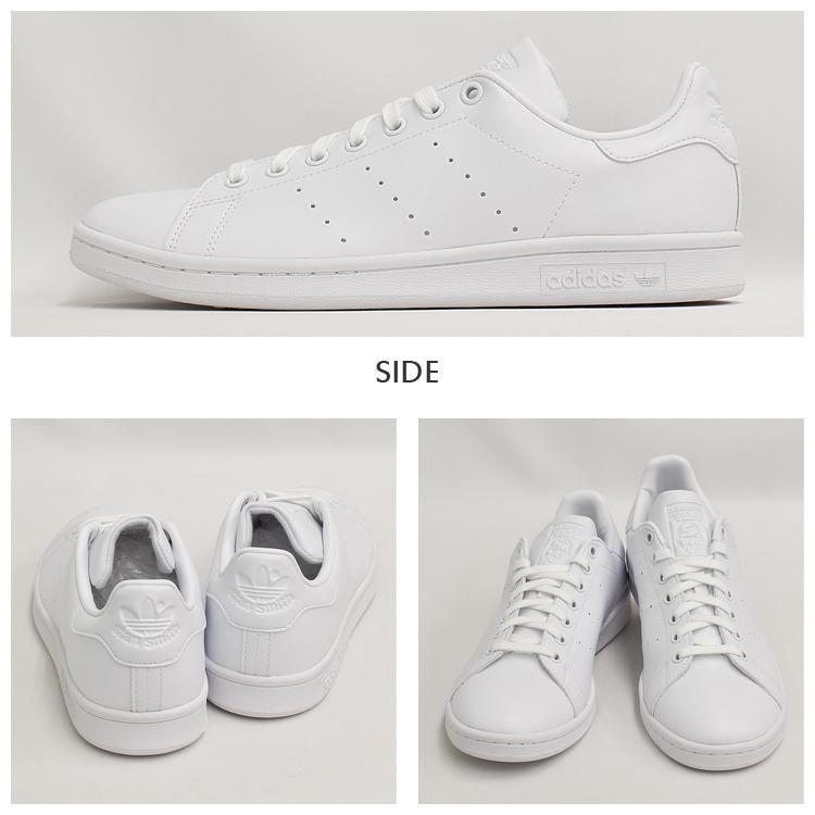 スタンスミス 白 アディダス メンズ レディース スニーカー ホワイト/ホワイト adidas STANSMITH WHITE/WHITE FX5500|denpcy|07