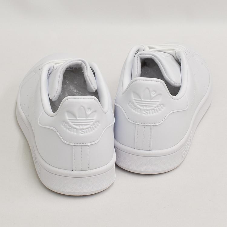 スタンスミス 白 アディダス メンズ レディース スニーカー ホワイト/ホワイト adidas STANSMITH WHITE/WHITE FX5500|denpcy|09
