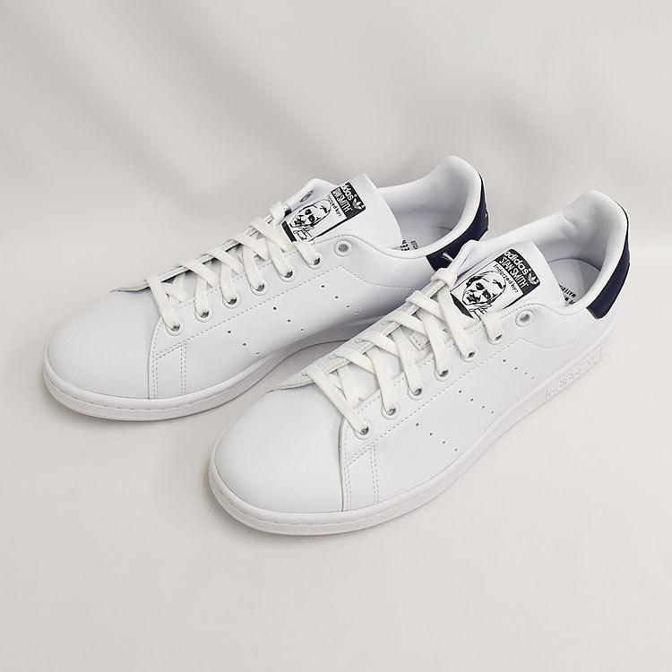 スタンスミス ネイビー アディダス メンズ レディース スニーカー ホワイト/ネイビー 白 adidas STANSMITH WHITE/NAVY FX5501|denpcy|15