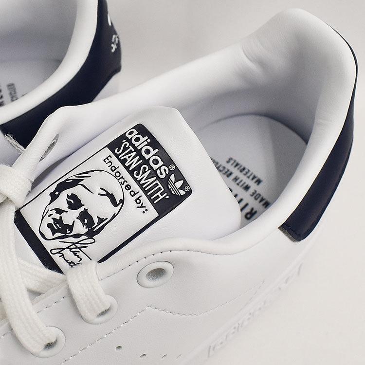 スタンスミス ネイビー アディダス メンズ レディース スニーカー ホワイト/ネイビー 白 adidas STANSMITH WHITE/NAVY FX5501|denpcy|17