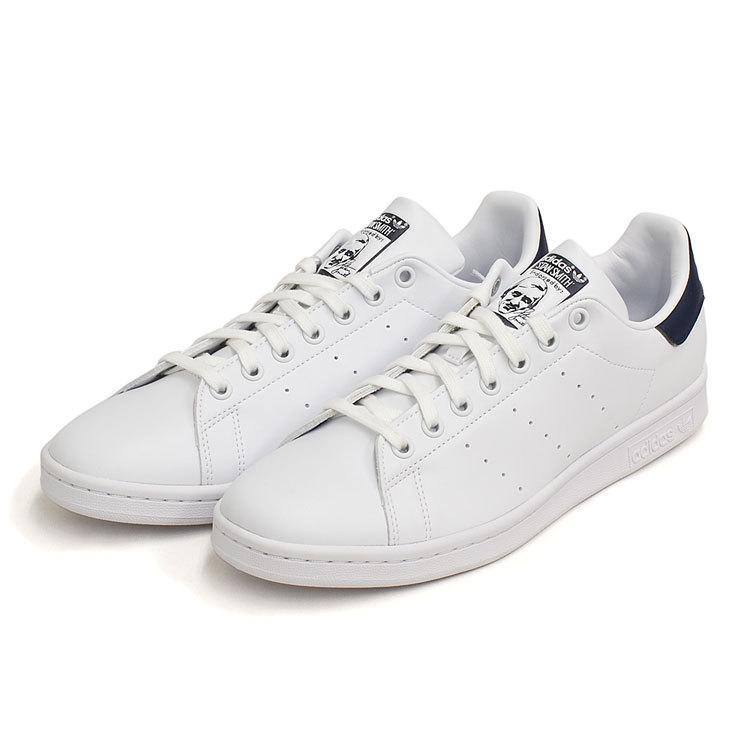スタンスミス ネイビー アディダス メンズ レディース スニーカー ホワイト/ネイビー 白 adidas STANSMITH WHITE/NAVY FX5501|denpcy|05