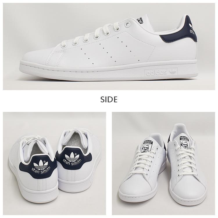 スタンスミス ネイビー アディダス メンズ レディース スニーカー ホワイト/ネイビー 白 adidas STANSMITH WHITE/NAVY FX5501|denpcy|07