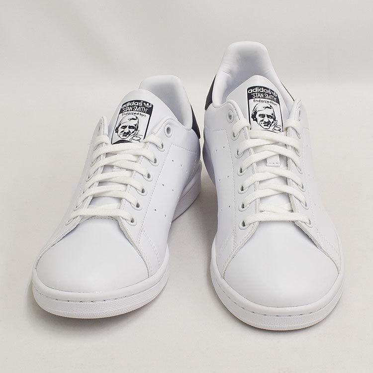 スタンスミス ネイビー アディダス メンズ レディース スニーカー ホワイト/ネイビー 白 adidas STANSMITH WHITE/NAVY FX5501|denpcy|10