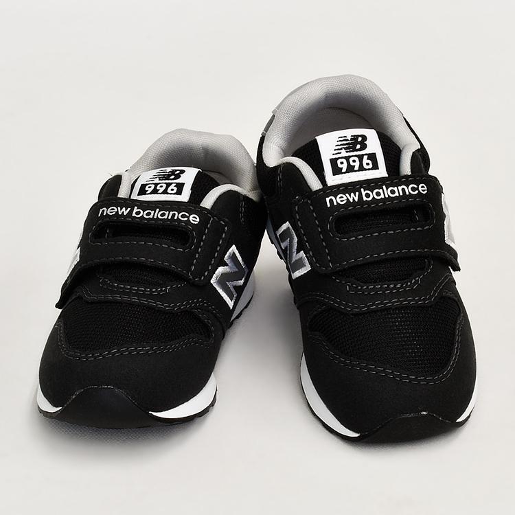 ニューバランス キッズ スニーカー ブラック/グレー/ネイビー インファント ジュニア 子供靴 3カラー new balance IZ996 denpcy 12