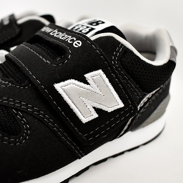 ニューバランス キッズ スニーカー ブラック/グレー/ネイビー インファント ジュニア 子供靴 3カラー new balance IZ996 denpcy 16