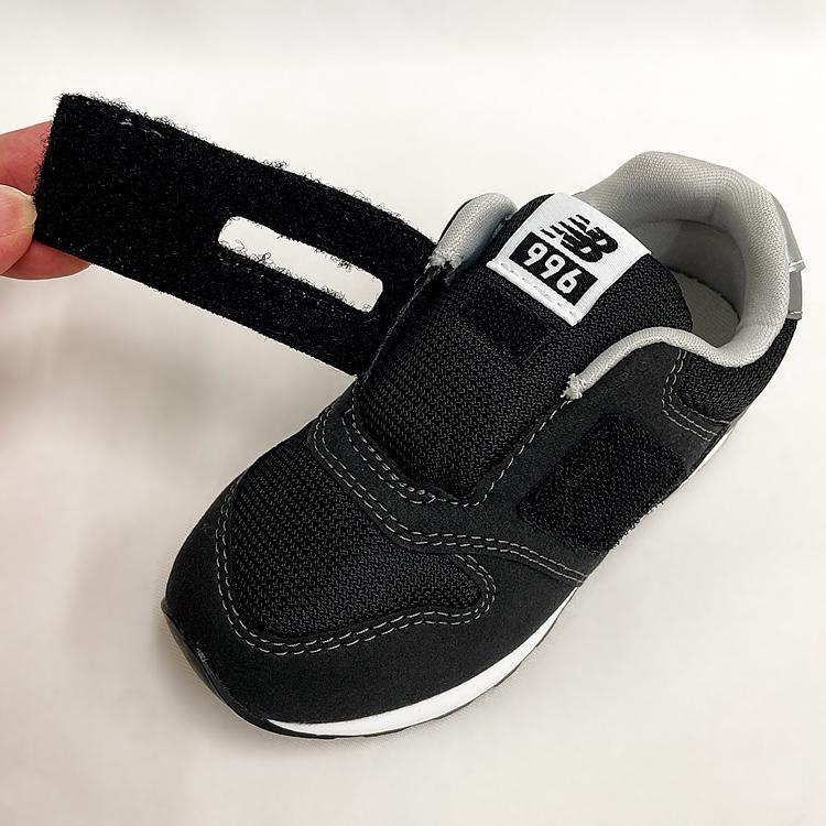 ニューバランス キッズ スニーカー ブラック/グレー/ネイビー インファント ジュニア 子供靴 3カラー new balance IZ996 denpcy 17