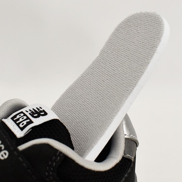 ニューバランス キッズ スニーカー ブラック/グレー/ネイビー インファント ジュニア 子供靴 3カラー new balance IZ996 denpcy 19