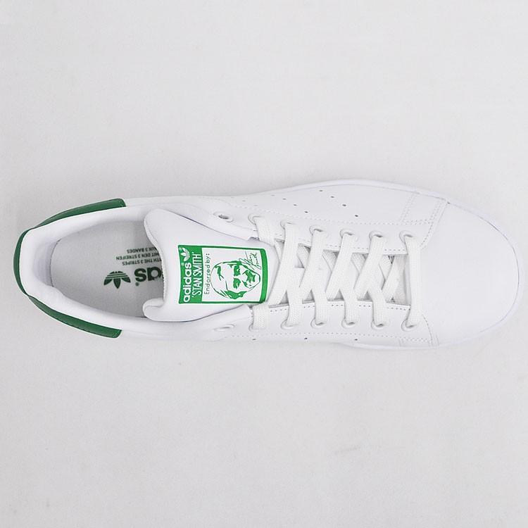 アディダス スタンスミス メンズ レディース スニーカー ホワイト/グリーン 白 緑 adidas STAN SMITH WHITE/GREEN M20324|denpcy|12