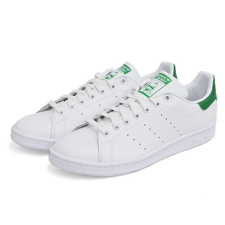 アディダス スタンスミス メンズ レディース スニーカー ホワイト/グリーン 白 緑 adidas STAN SMITH WHITE/GREEN M20324|denpcy|05