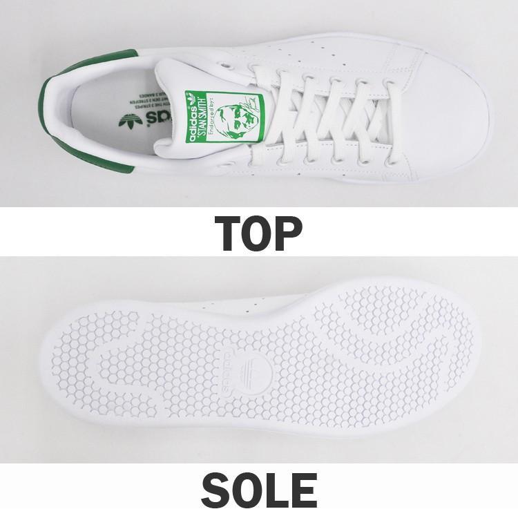 アディダス スタンスミス メンズ レディース スニーカー ホワイト/グリーン 白 緑 adidas STAN SMITH WHITE/GREEN M20324|denpcy|06
