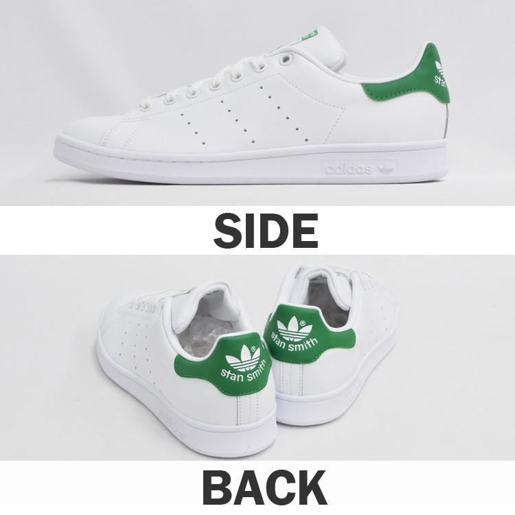 アディダス スタンスミス メンズ レディース スニーカー ホワイト/グリーン 白 緑 adidas STAN SMITH WHITE/GREEN M20324|denpcy|07