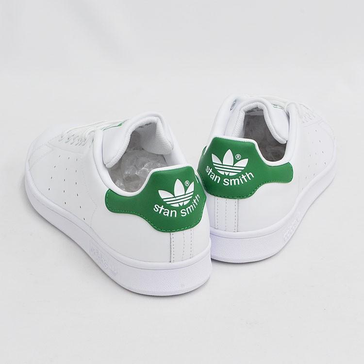 アディダス スタンスミス メンズ レディース スニーカー ホワイト/グリーン 白 緑 adidas STAN SMITH WHITE/GREEN M20324|denpcy|08