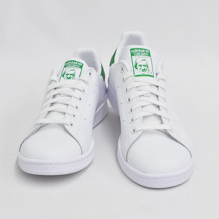 アディダス スタンスミス メンズ レディース スニーカー ホワイト/グリーン 白 緑 adidas STAN SMITH WHITE/GREEN M20324|denpcy|09