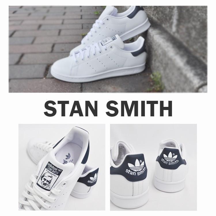 アディダス スタンスミス メンズ レディース スニーカー ホワイト/ネイビー 白 紺 adidas STAN SMITH WHITE/NAVY M20325|denpcy|04