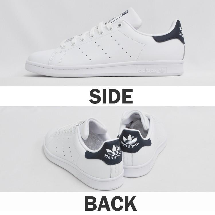 アディダス スタンスミス メンズ レディース スニーカー ホワイト/ネイビー 白 紺 adidas STAN SMITH WHITE/NAVY M20325|denpcy|07