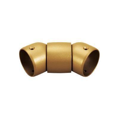 大洲市 BAUHAUS ゴールド 手すり部材 BD-36G セレクト 35N自在ジョイント-介護用品