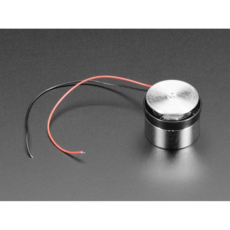 4Ω-3W 表面接触型トランスデューサー+ワイヤー|denshi