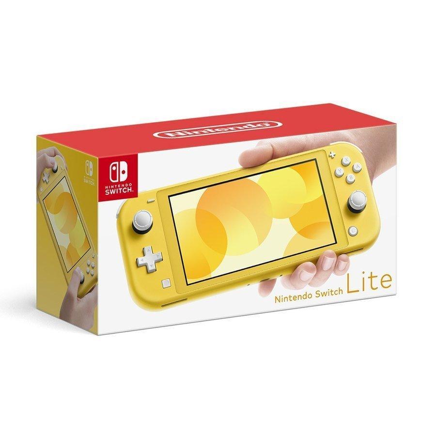 【即日発送】【新品 外箱痛みあり】任天堂 Nintendo Switch Lite イエロー  Nintendo Switch本体 新品 印付きの場合あり densidonya