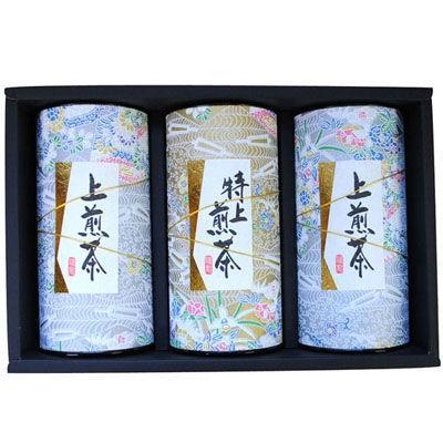 鈴木園 SZK-KD-50 【のし・包装可】静岡茶 静岡煎茶詰め合わせ(100g×3) KD-50 (SZKKD50)