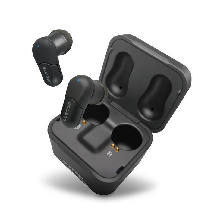 エレコム LBT-TWS02BK Bluetoothイヤホン/トゥルーワイヤレス/TWS02/WEB限定/ブラック (LBTTWS02BK)|dentarou