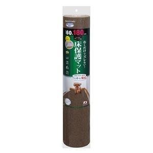 ds-2272569 (まとめ)ペット用床保護マット 60×180cm ブラウン(ペット用品)【×16セット】 (ds2272569)