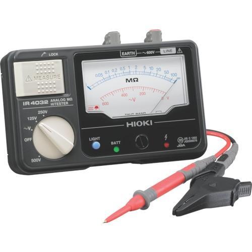 日置電機 IR4032-10 「HIOKI メグオームハイテスタ」
