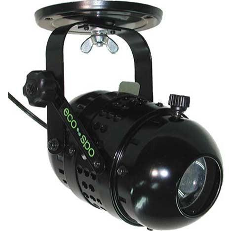 日照 LED LED NLE-9652K 10WLEDエコピンスポット 調光不可 ブラック (NLE9652K)