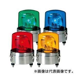 パトライト 大型回転灯 SKL-120SA-Y 黄 (AC200V)
