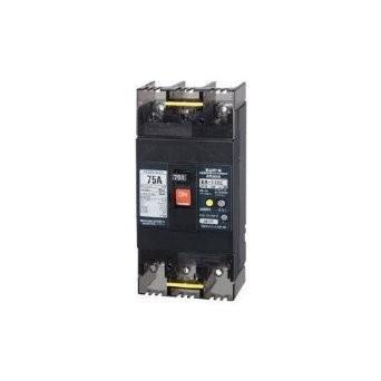 漏電遮断器 OC付 テンパール工業 Eシリーズ(経済タイプ) GB-73EC 3P3E 75AF 75A 30mA 73EC7530