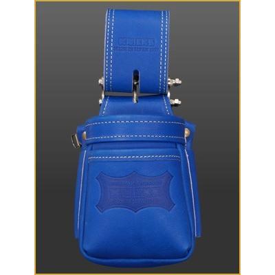 ニックス KNICKS 最高級硬式グローブ革チェーンタイプ小物腰袋(VAストリッパーフォルダー)(ブルー) KGBL-201VADX