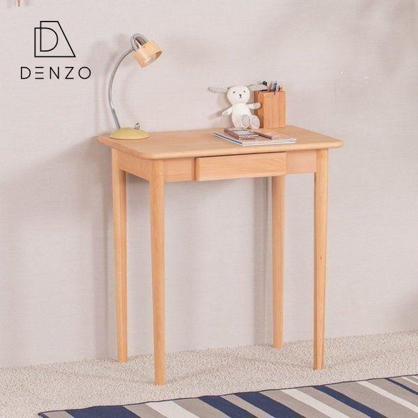 学習机 おしゃれ 北欧 シンプル 無垢 木製 70 デスク パソコンデスク リビング学習 フルール ISSEIKI|denzo