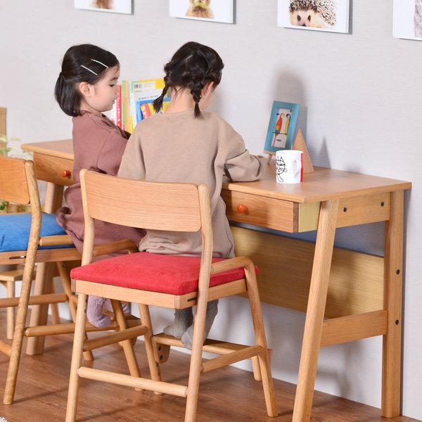 学習机 ツインデスク 子供 シンプル 幅135 レプトン ISSEIKI|denzo|03