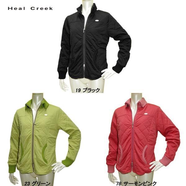 ヒールクリーク Heal Creek レディース 秋冬 撥水 防風 フルジップ ジャケット