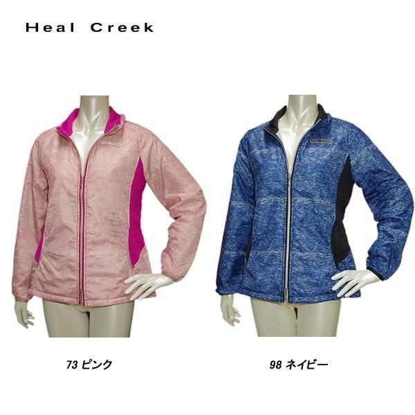 ヒールクリーク Heal Creek レディース 春秋 撥水 ジャケット