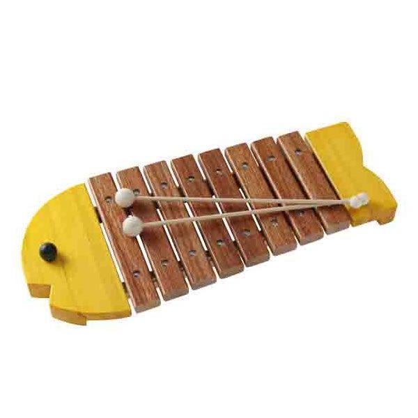 お魚のシロフォン(黄色)